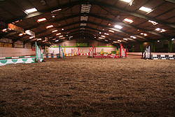 diy livery stables, indoor arena